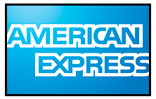 Rod Hobson and Kris Espino happily accept American Express Credit Cards
