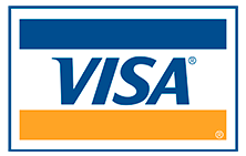 Rod Hobson and Kris Espino happily accept Visa Credit Cards